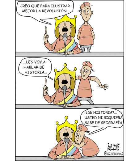 Caricatura Política - Gabriel Bozzone