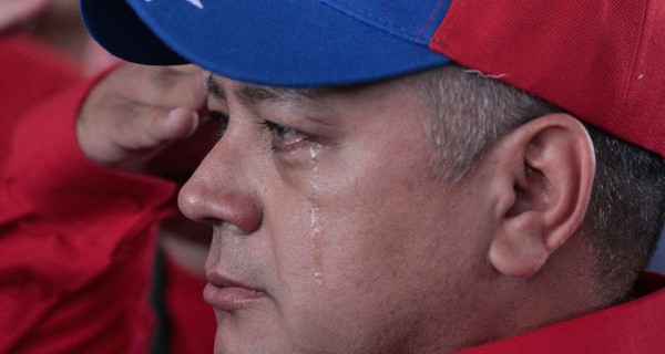 Diosdado Cabello presiente el final