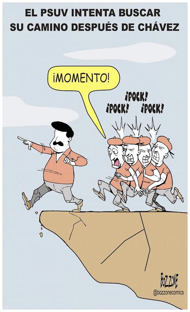 El PSUV buscando su camino despues de Chávez - Bozzone Comics | iJustSaidIt.com