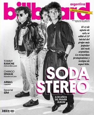 Soda Estereo en la revista de Billboard Argentina | iJustSaidIt.com