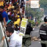 Protestas en Venezuela no pararán de luchar hasta que Maduro salga del poder | iJustSaidIt.com